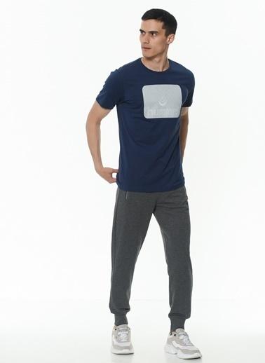 Hummel Erkek Tişört Oal 911177-9968 Mavi